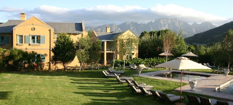 Exterior of Franschhoek Country House and Villas