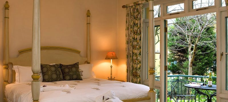 Bedroom at Franschhoek Country House and Villas
