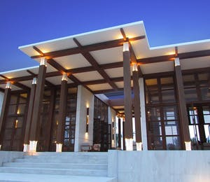 Main Reception Area at Fusion Resort Nha Trang