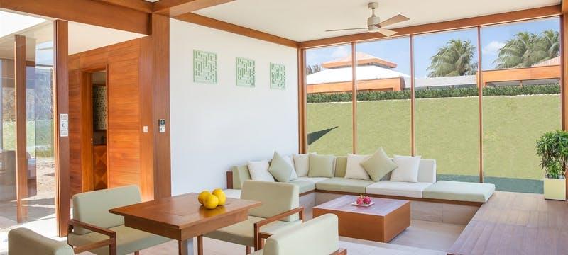 Double Pool Villa Interior