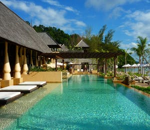 Swimming Pool at Gaya Island Resort, Borneo