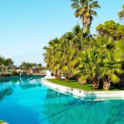 Swimming Pool at Gloria Serenity Resort, Belek, Turkey