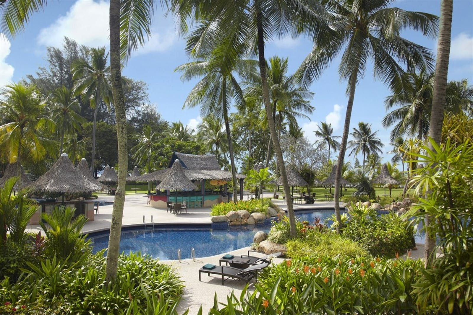 Pool Area at Golden Sands Resort by Shangri-La