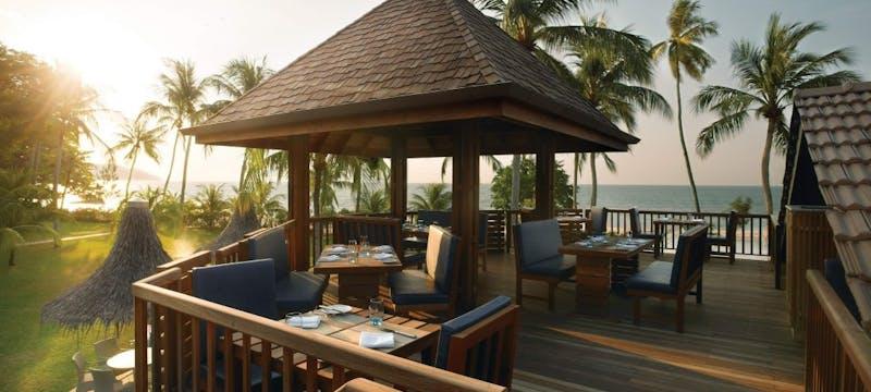 Sigi's Open Air Deck at Golden Sands Resort by Shangri-La