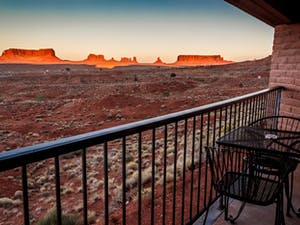 View From Main Lodge at Goulding's Trading Post and Lodge
