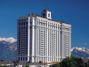 Exterior of Grand America Hotel, Salt Lake City