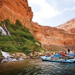 Grand Canyon White Water Rafting Adventure & Las Vegas