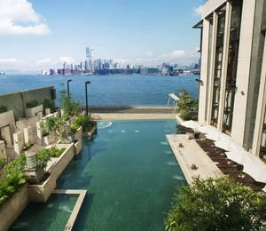 Swimming Pool at Harbour Grand Hong Kong