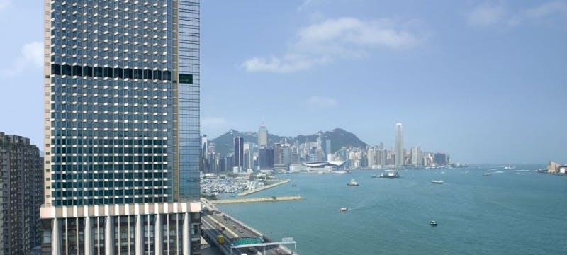 Hotel Exterior at Harbour Grand Hong Kong