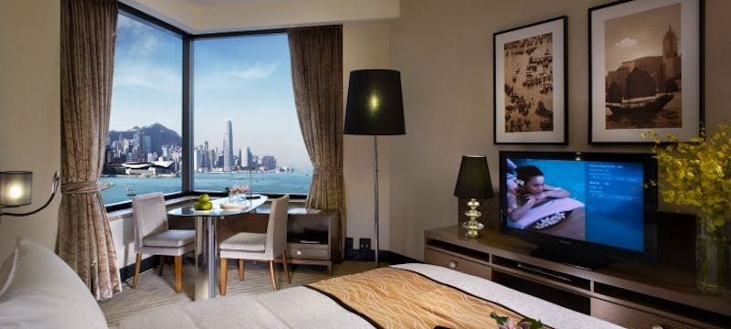 Grand Deluxe Harbour View Room at Harbour Grand Hong Kong