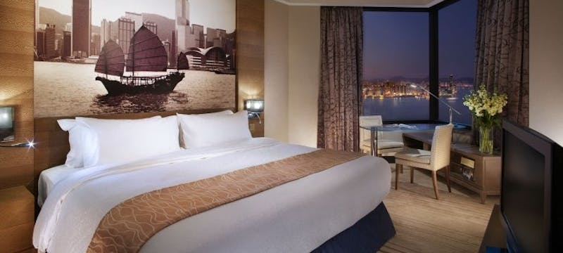 Superior Harbour View Room  at Harbour Grand Hong Kong