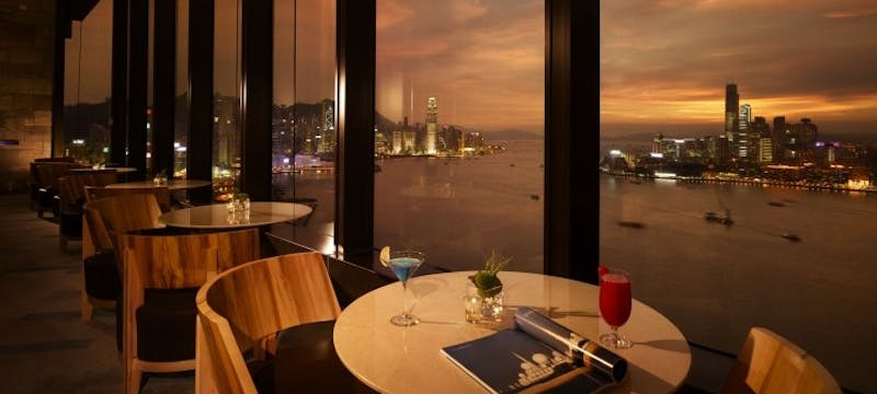 Harbour Club Lounge at Harbour Grand Hong Kong
