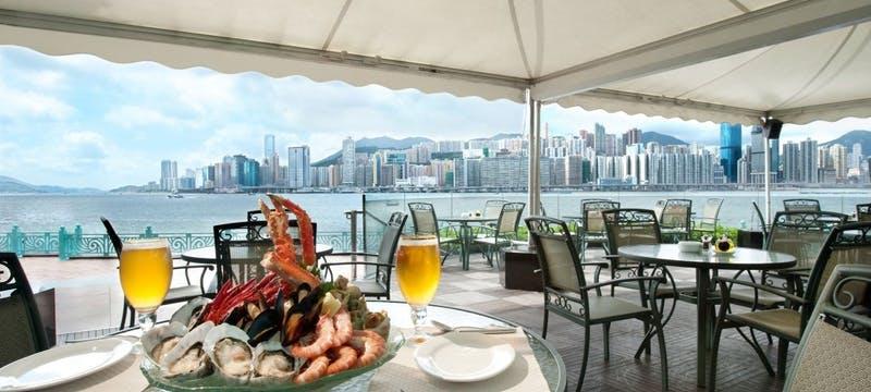 Waterfront Bar & Terrace (Al-fresco) at Harbour Grand Kowloon