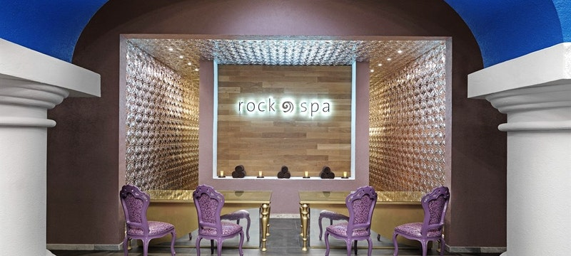 Rock Spa Entrance