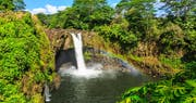 Rainbow Falls in Hilo, Wailuku River State Park