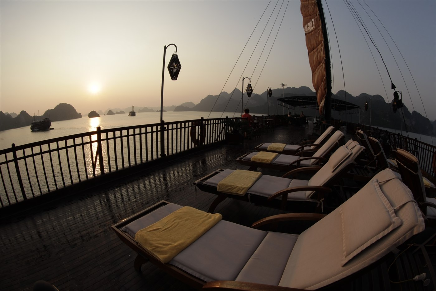 Ginger Sub Deck Heritage Line Halong Bay Cruises