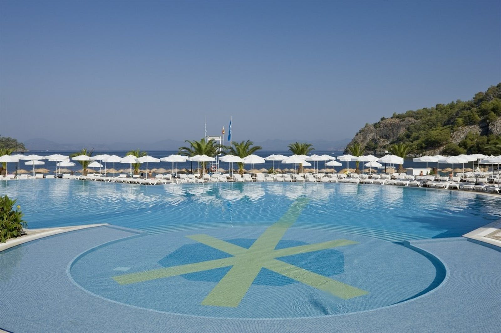 Resort Pool at Hillside Beach Club, Fethiye, Turkey