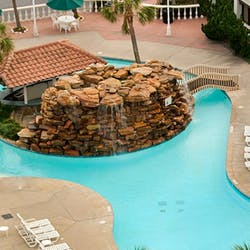 Swimming Pool at Hilton Galveston Island (The Gulf Coast)
