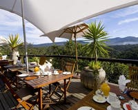Dining at Hog Hollow Country Lodge (Plettenberg Bay)