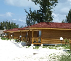Accommodation at Cayo Levisa, Cuba