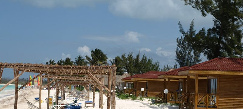 Beach Bungalows And Hammocks