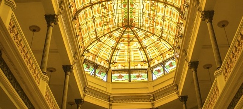 Glass Roof Feature