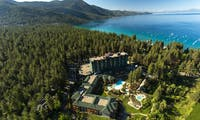 Aerial View of Hyatt Regency Lake Tahoe Resort, Casino & Spa