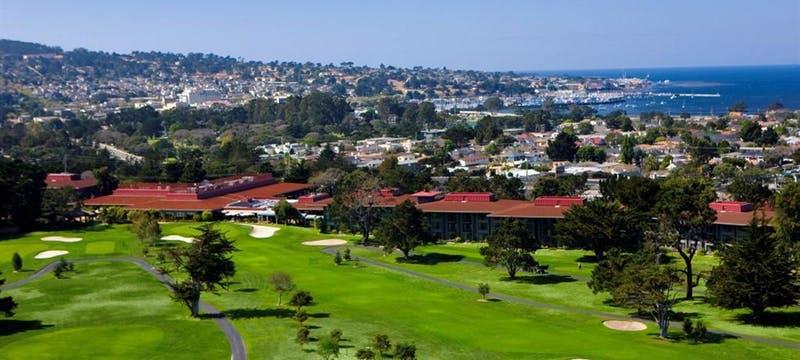 Aerial view of Hyatt Regency Monterey Hotel & Spa