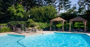 Pool area at Hyatt Regency Monterey Hotel & Spa