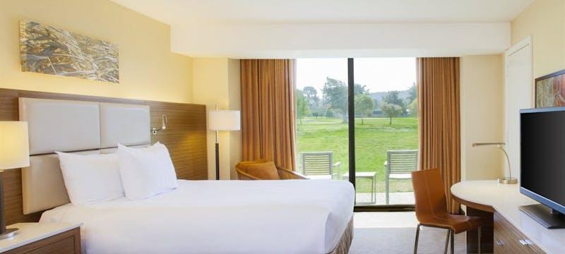 Bedroom at Hyatt Regency Monterey Hotel & Spa