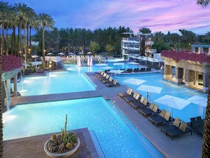 Pool area at Hyatt Regency Scottsdale Resort & Spa at Gainey Ranch