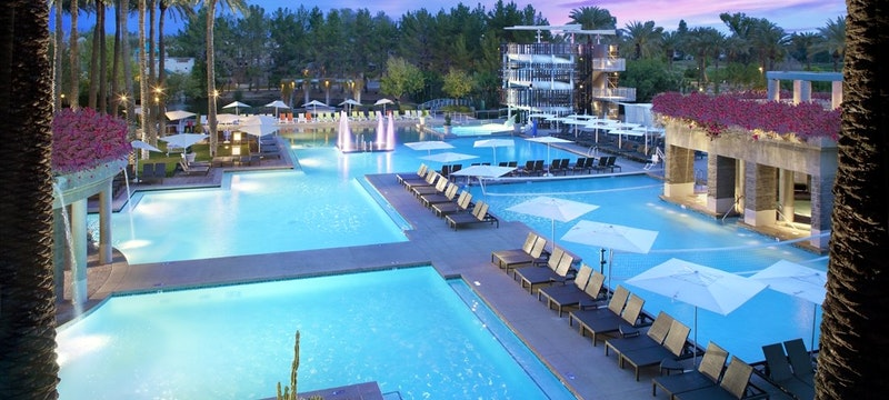Pool area at Hyatt Regency Scottsdale Resort & Spa at Gainey Ranch