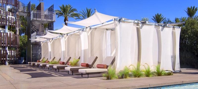 Lounge chairs at Hyatt Regency Scottsdale Resort & Spa at Gainey Ranch