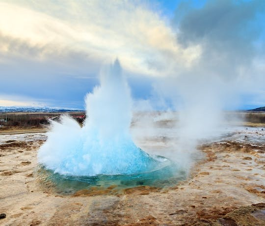 The Strokkur Geyser