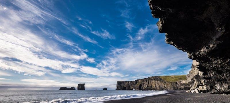 South Iceland Black Sand Beach