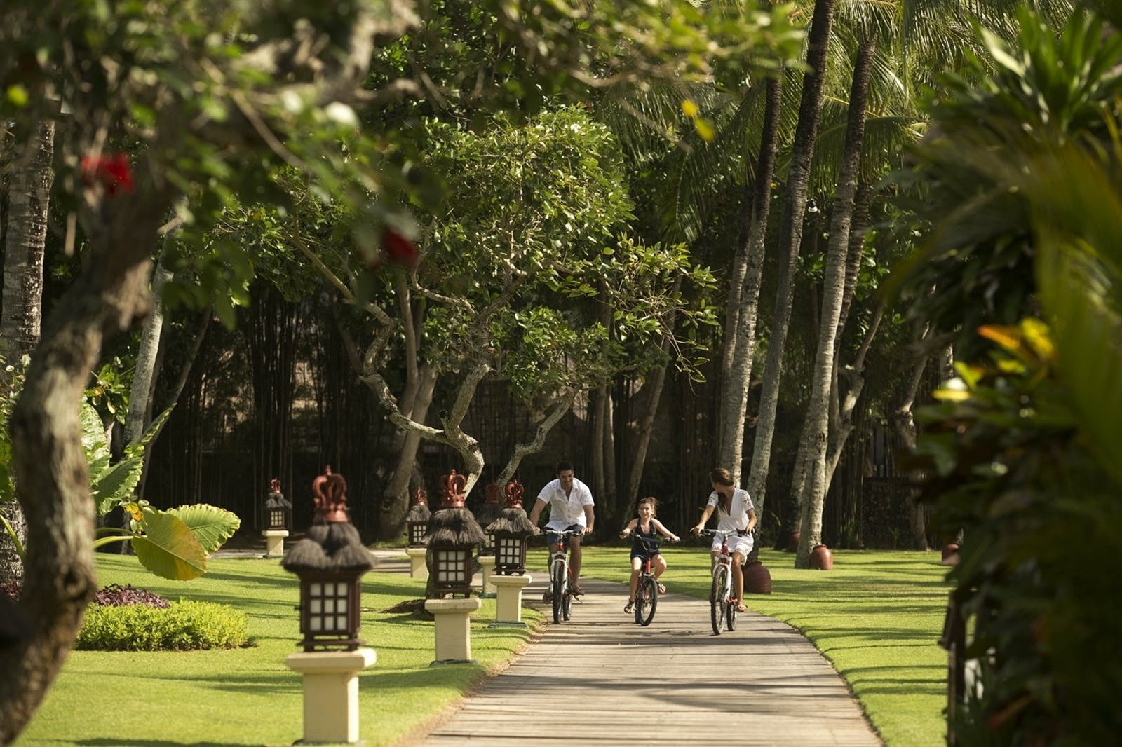 bike activity at Intercontinental Bali Resort