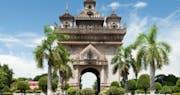 Patuxay Monument Vientiane