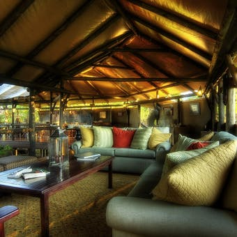 Living Area at Kanana Camp
