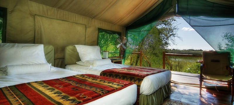 Luxury Tent at Kanana Camp