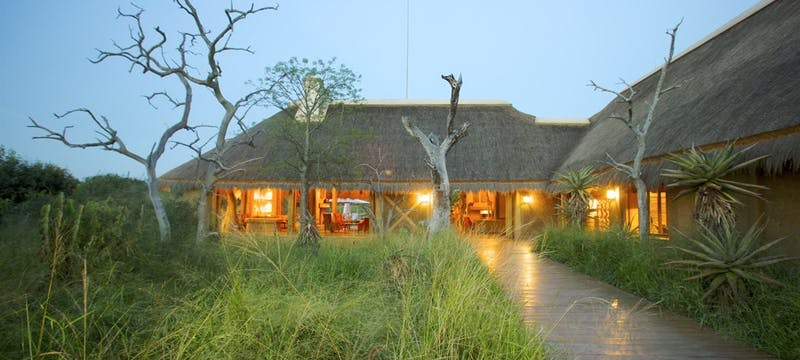Lodge Entrance at Kapama River Lodge, South Africa