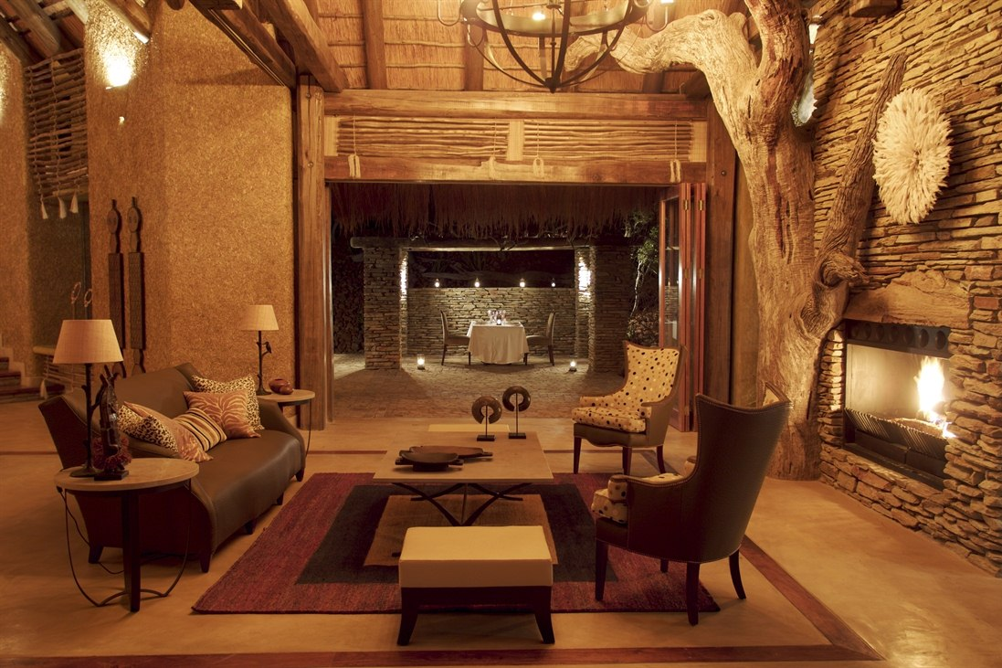 Siyadla Lounge at Kapama River Lodge, South Africa