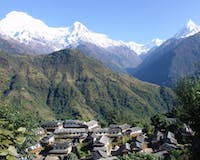 Beautiful view at Ker and Downey Lodges, Nepal