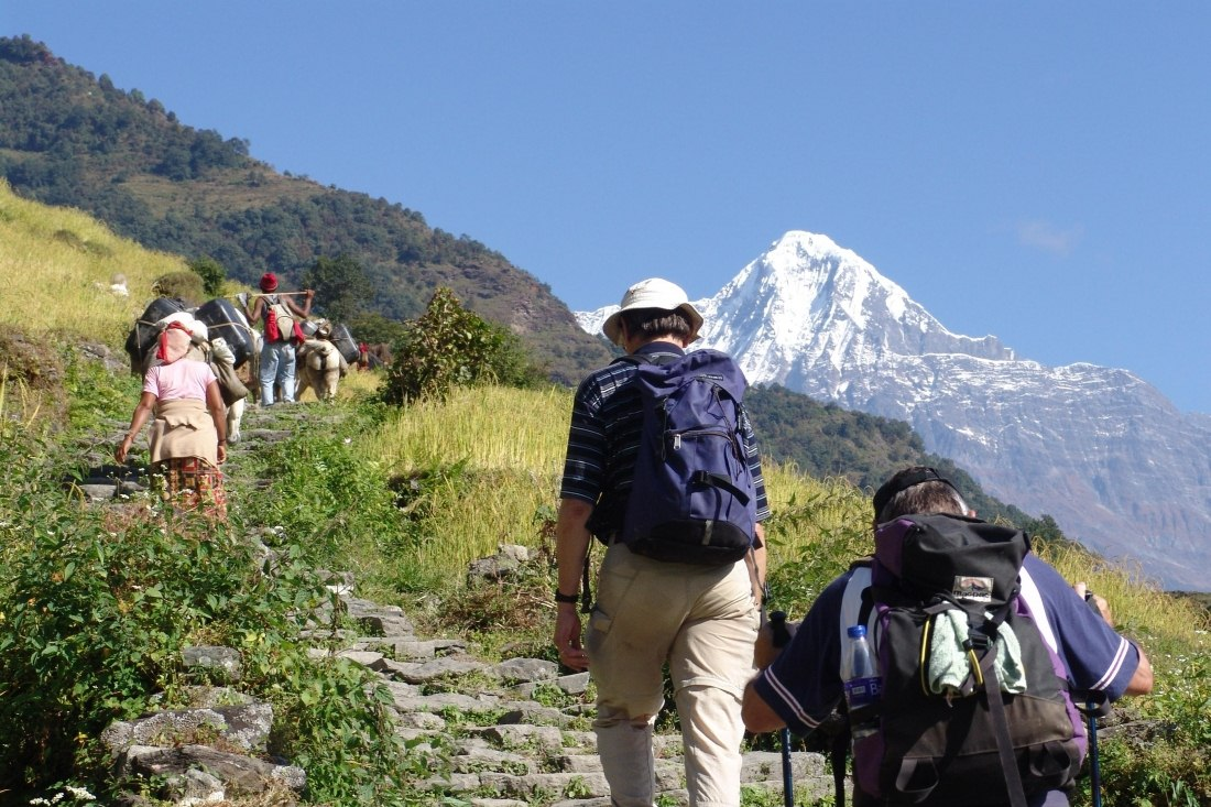 Trek at Ker and Downey Lodges, Nepal