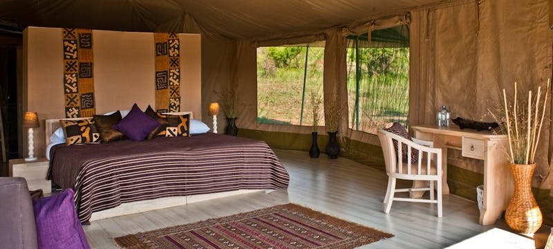 Luxury Tent at Kicheche Valley Camp