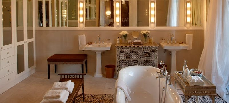 Bathroom at La Residence Franschhoek (Franschhoek)