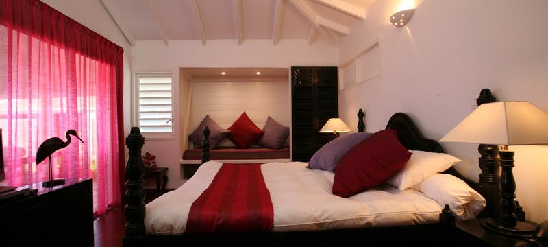 Guest bedroom at La Toubana Hotel & Spa