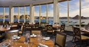 Restaurant overlooking the Marina at Lake Powell Resort & Marina