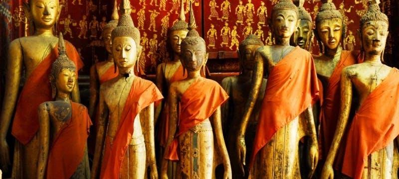 Buddha Statues at Wat Xieng Thong