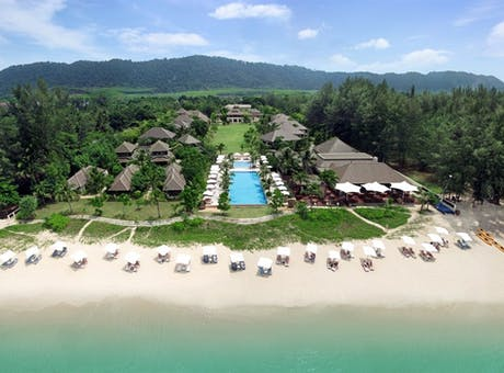 Aerial View of Layana Resort & Spa Koh Lanta