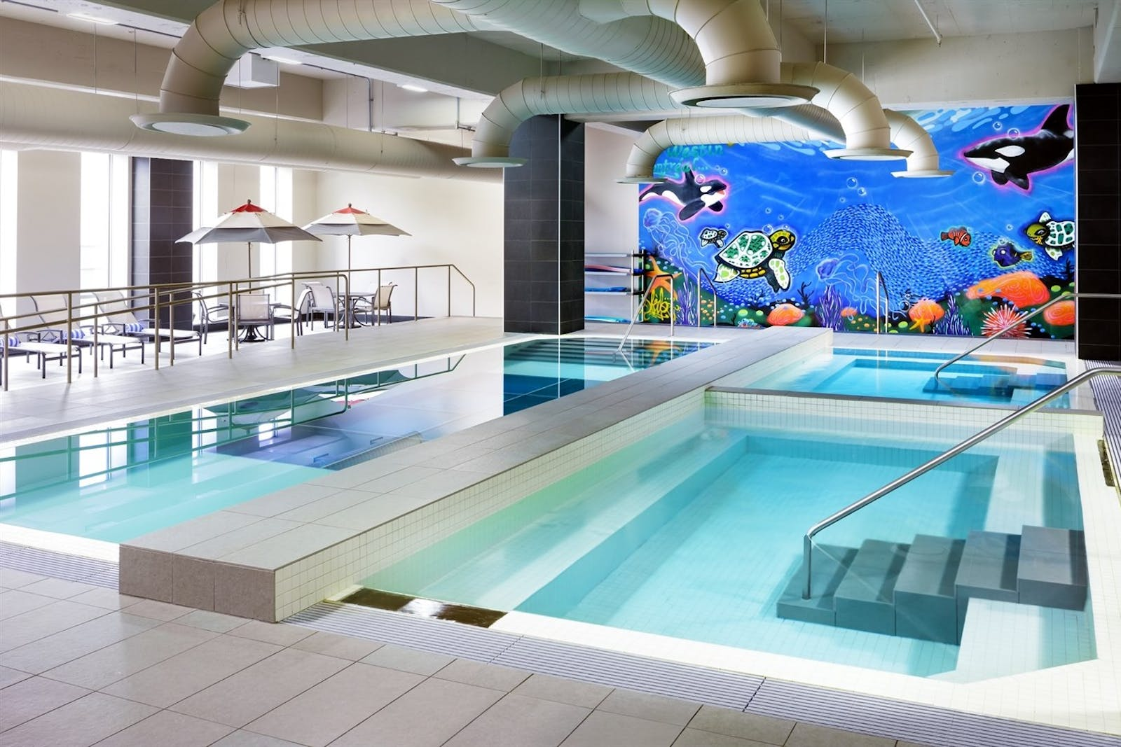 Indoor Pool at Le Westin Montreal, Quebec